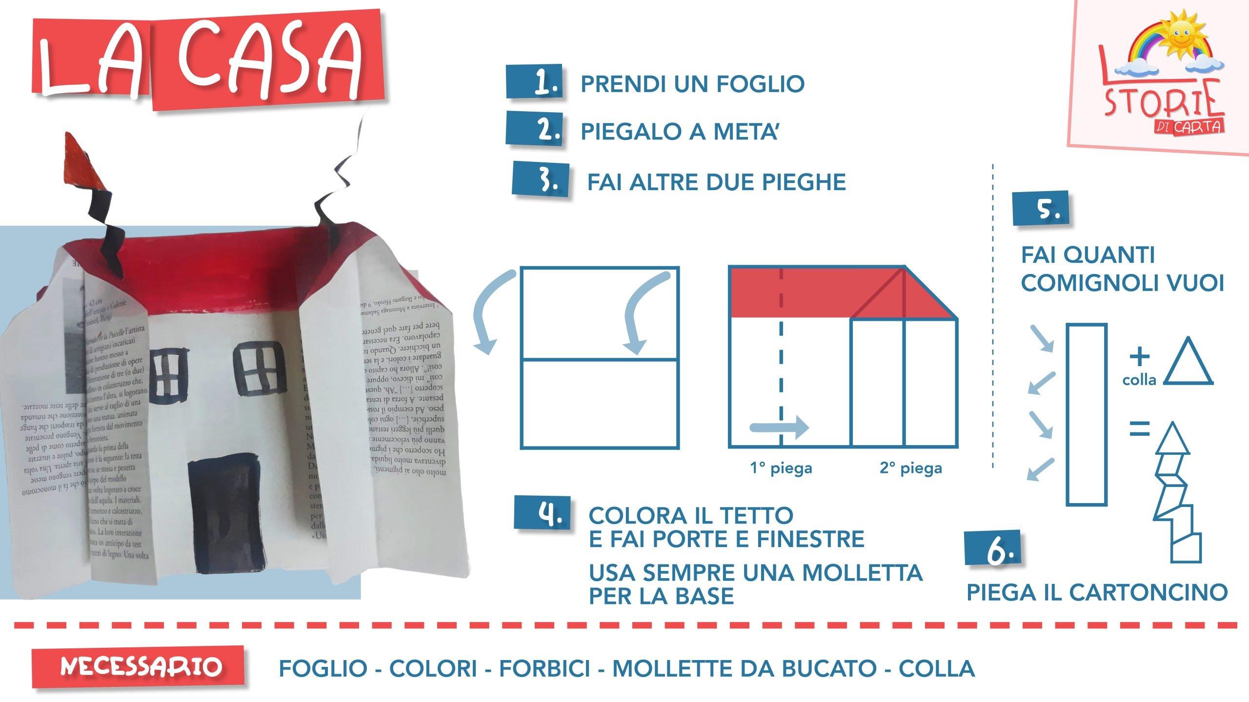 Storie di carta - le istruzioni - lavoretti per bambini