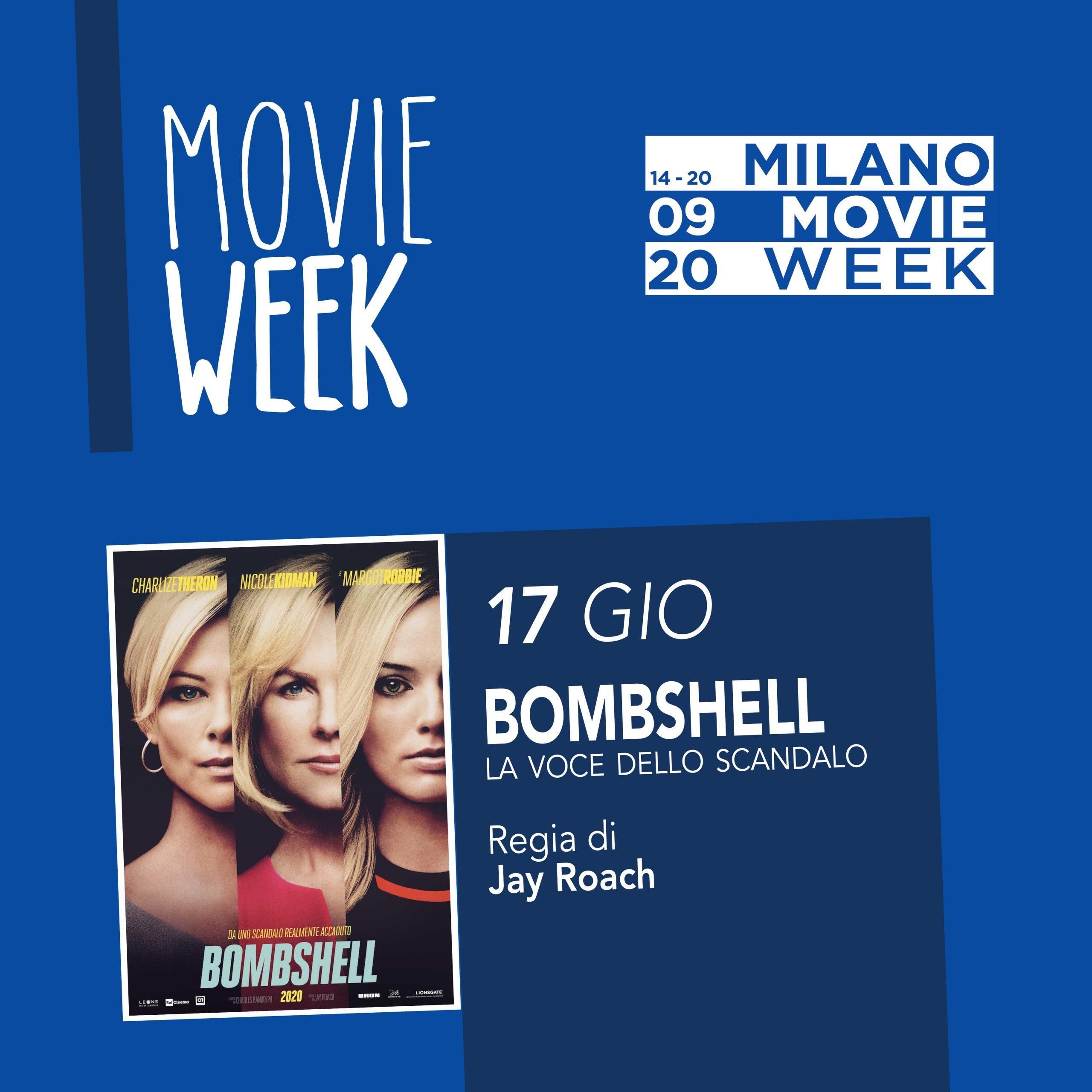 Movie Week Bombshell. Proiezione al Centro Asteria