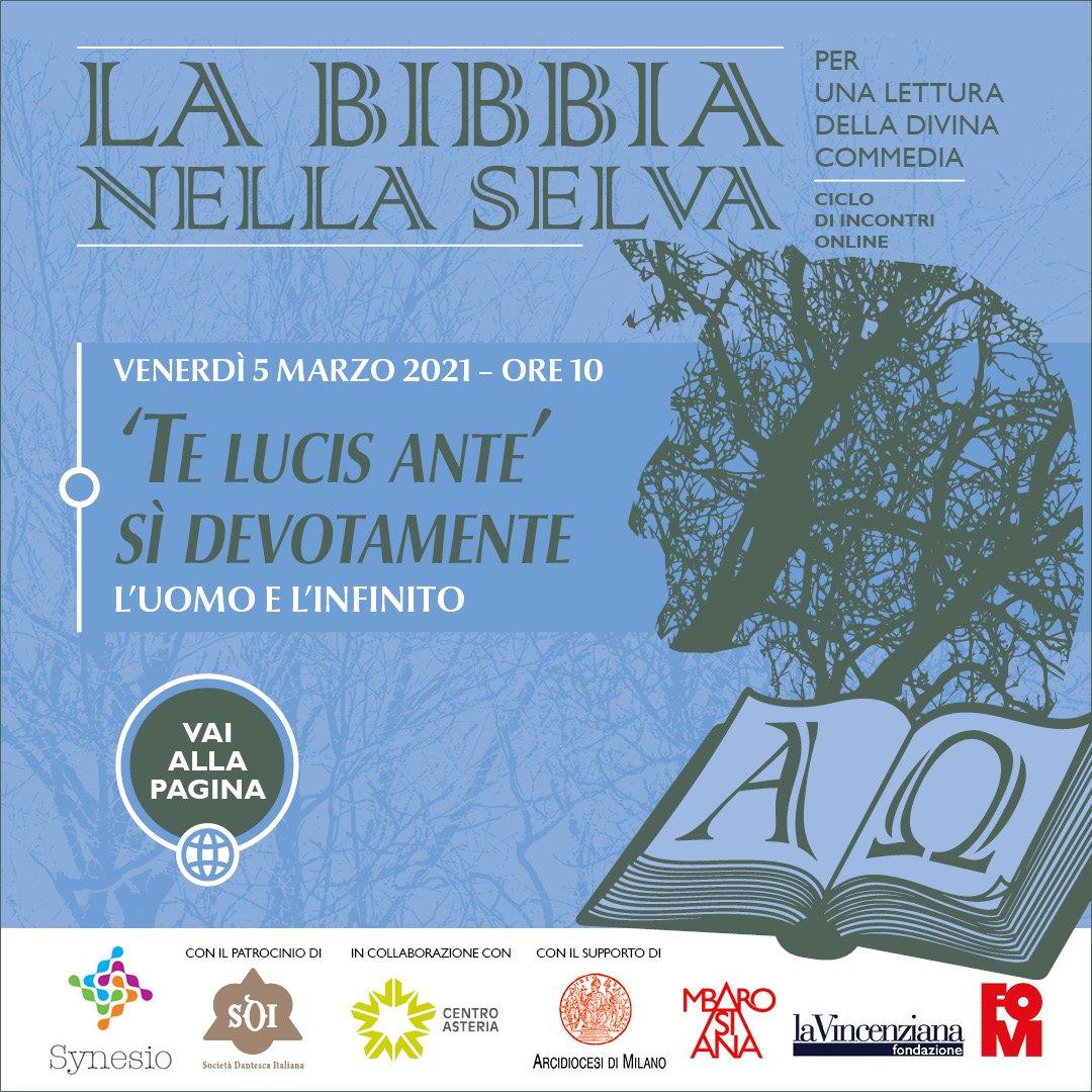 Divina Commedia - La bibbia nella selva   primo incontro