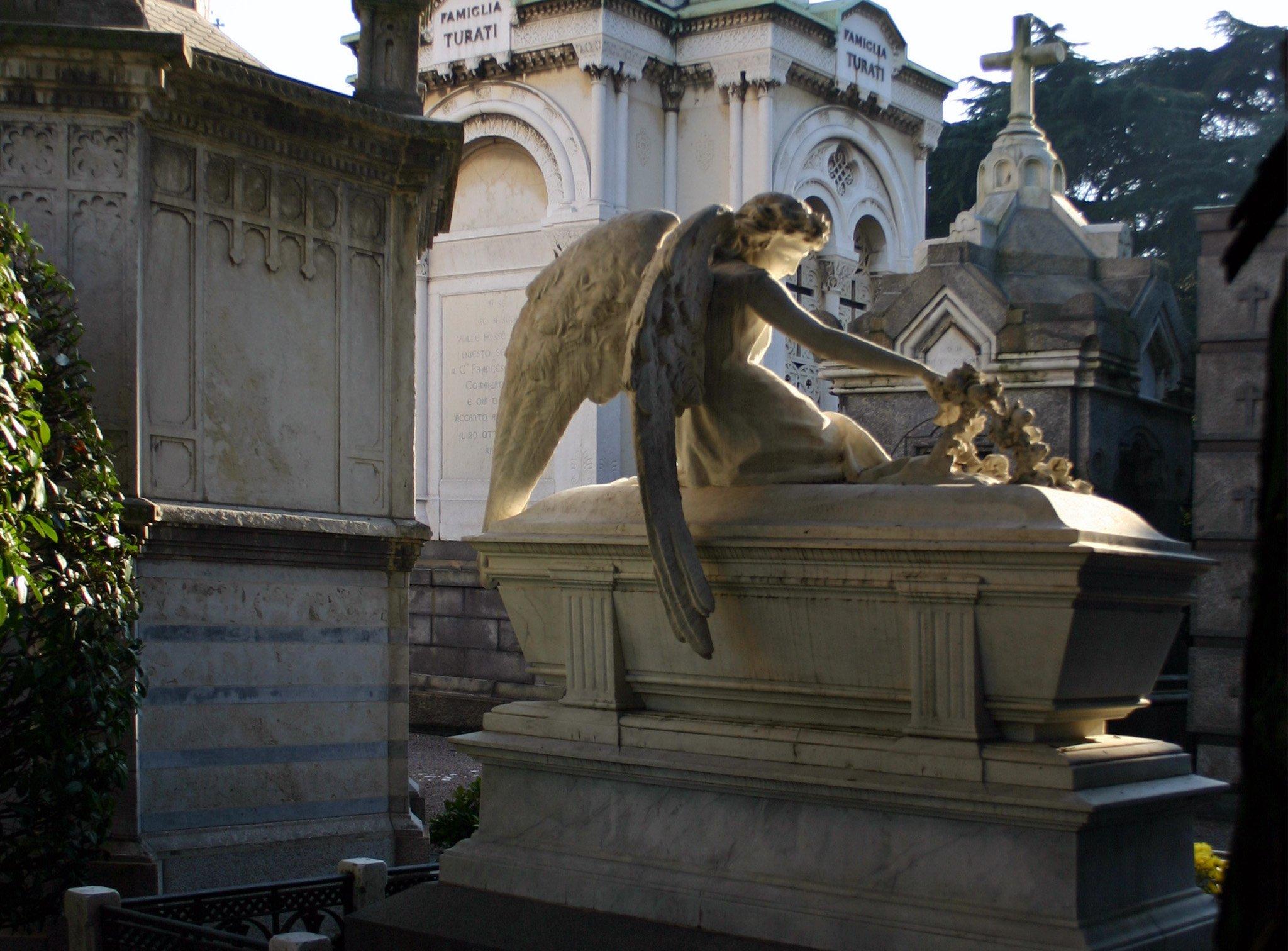 Cimitero Monumentale - opere artistiche per la visita guidata