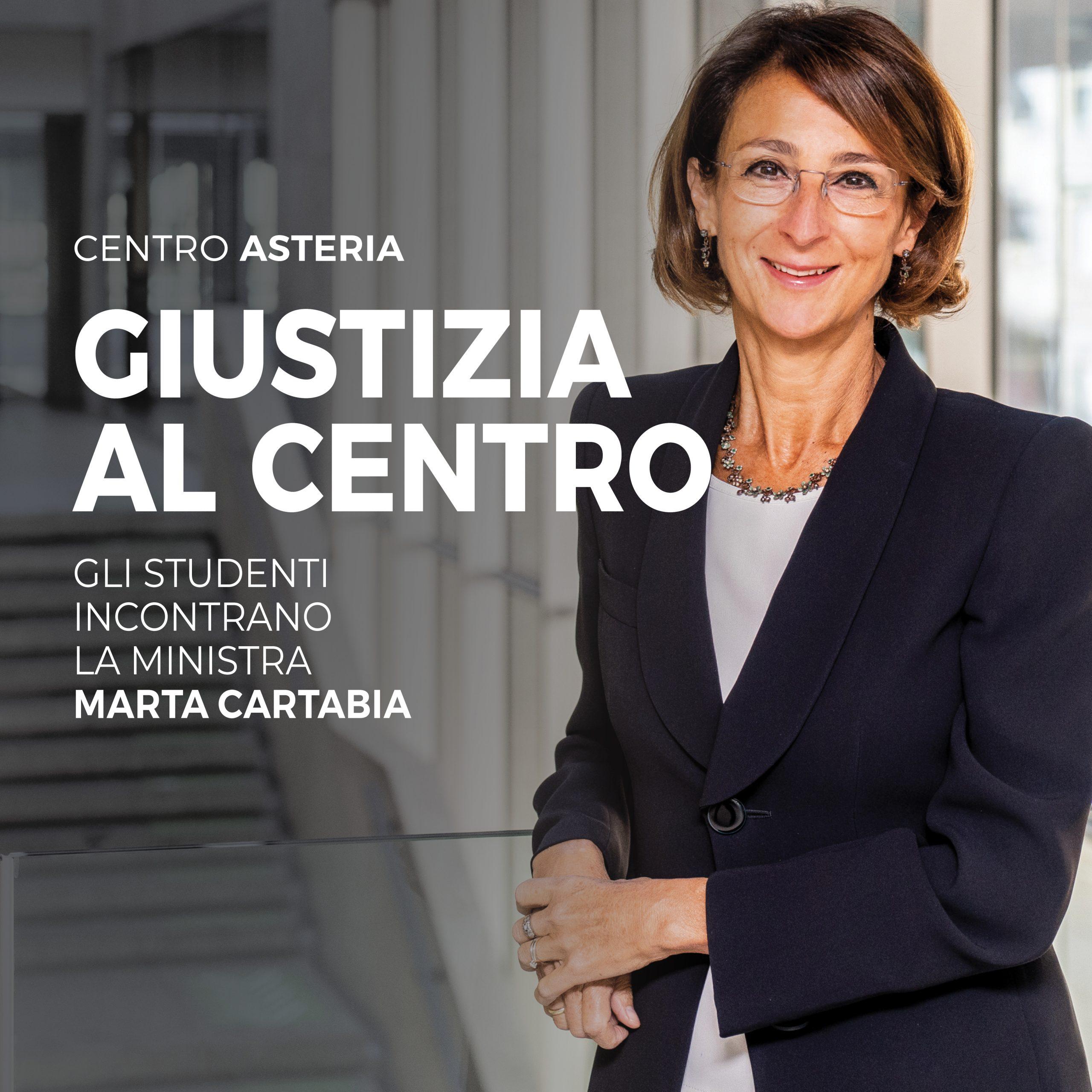 Ministra della giustizia Marta Cartabia